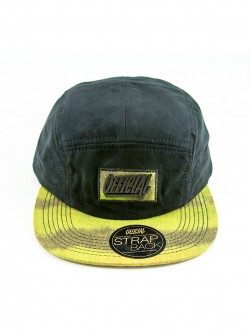 Boné Official 5 Panel Preto